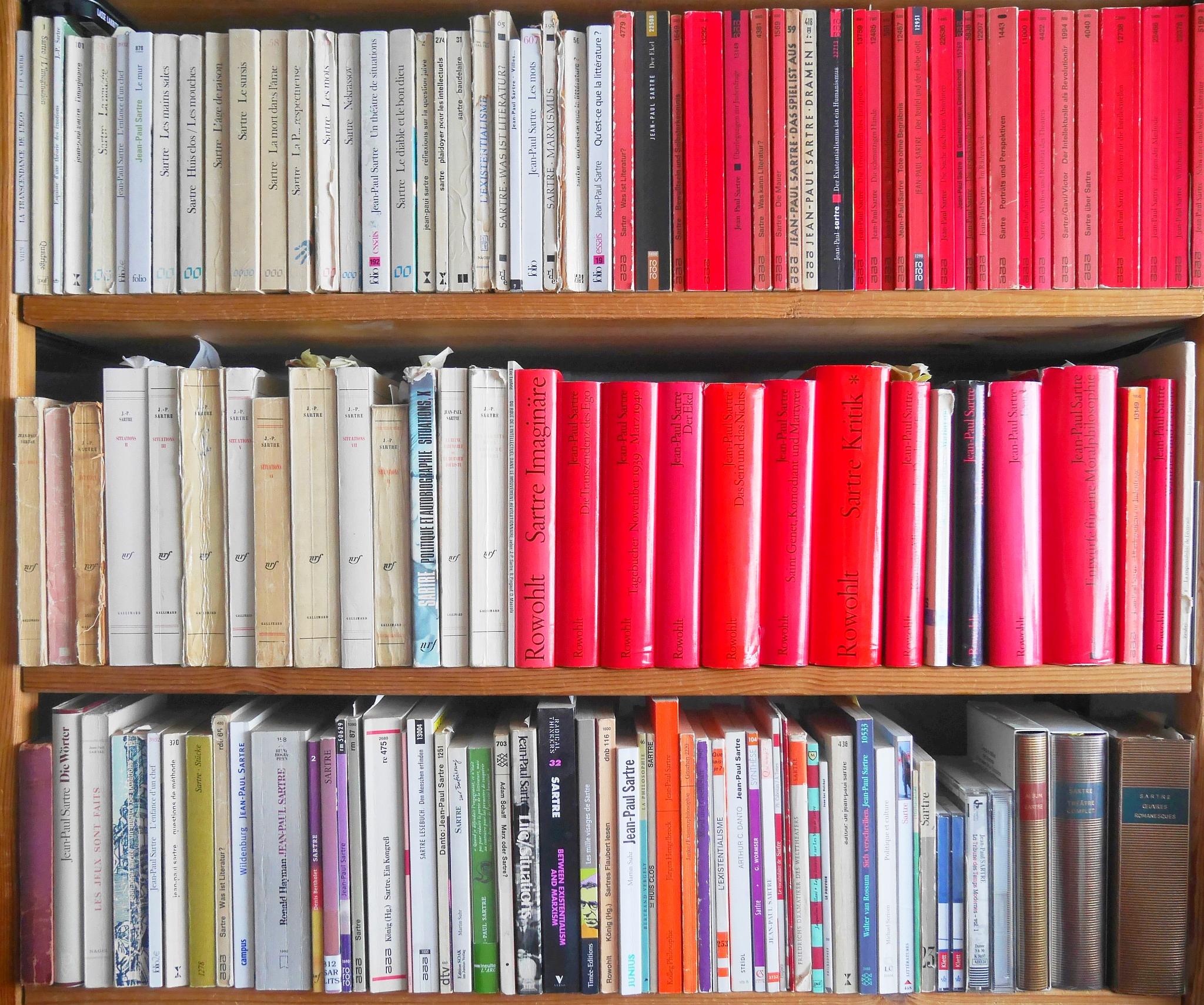 Jean-Paul Sartre - Bbliographie